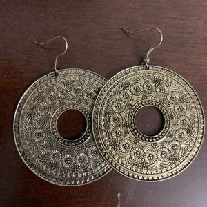 Boho Textured Earrings